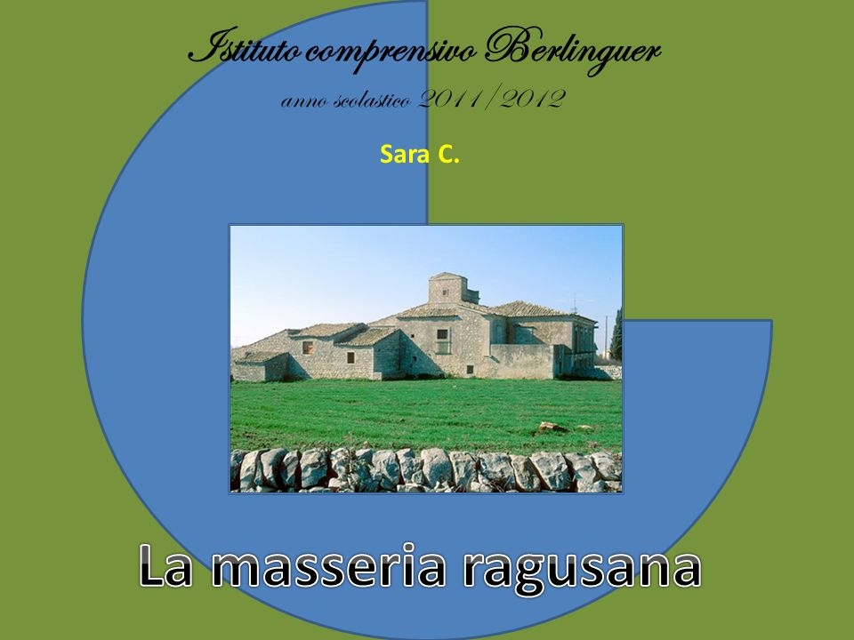 Istituto comprensivo Berlinguer anno scolastico 2011/2012