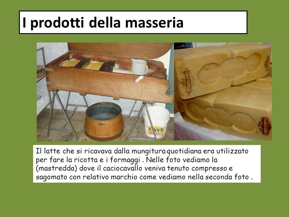 I prodotti della masseria