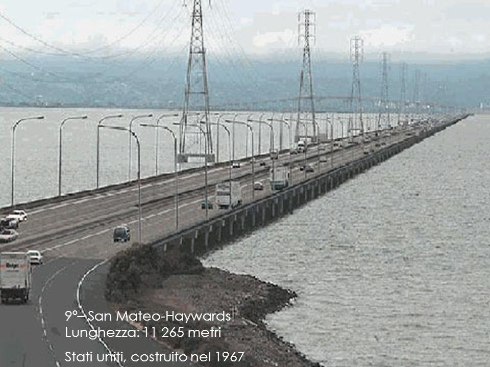 9º– San Mateo-Haywards Lunghezza: 11 265 metri