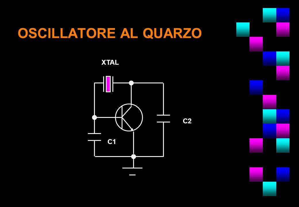 OSCILLATORE AL QUARZO XTAL C2 NOTA: C1