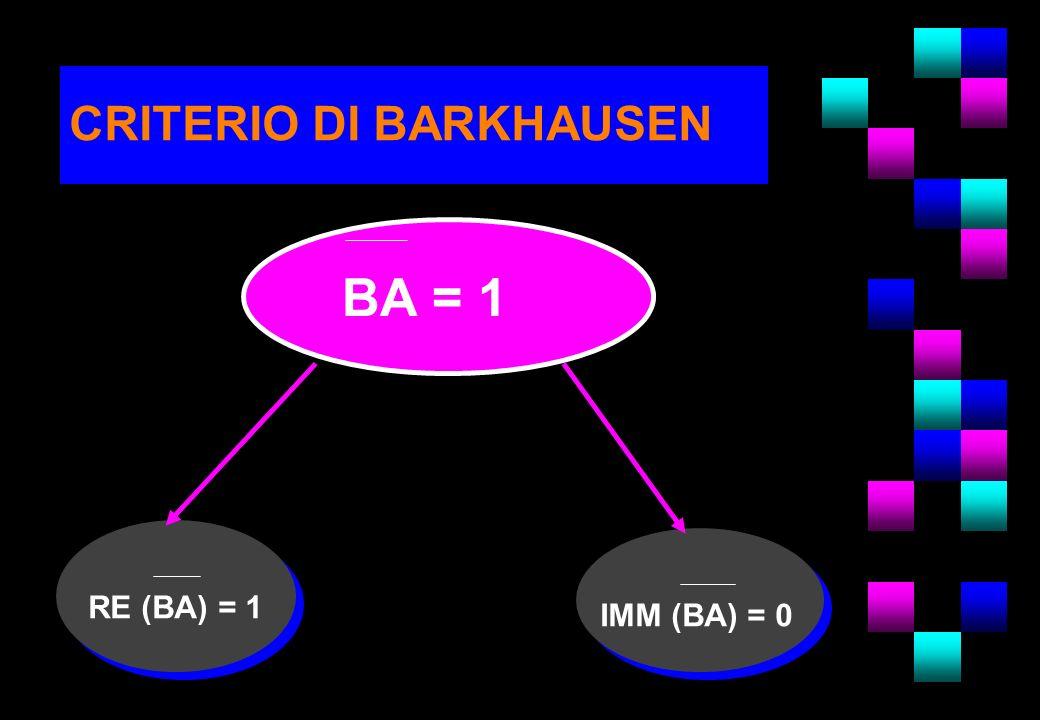 CRITERIO DI BARKHAUSEN