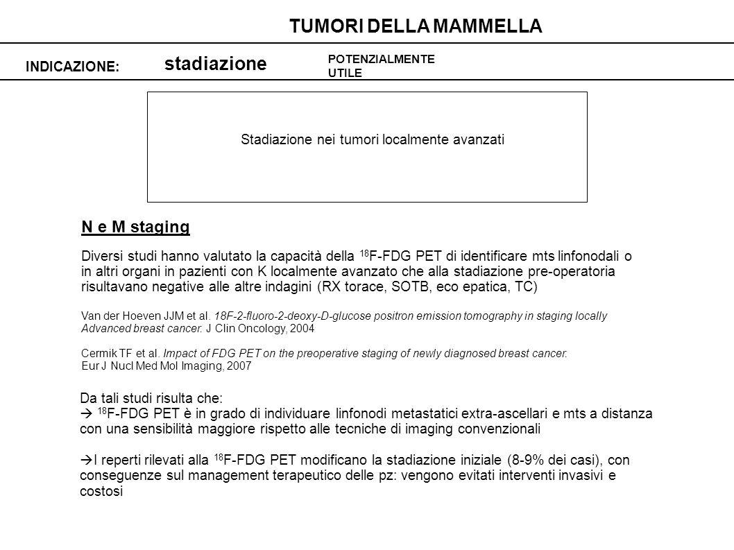 Stadiazione nei tumori localmente avanzati