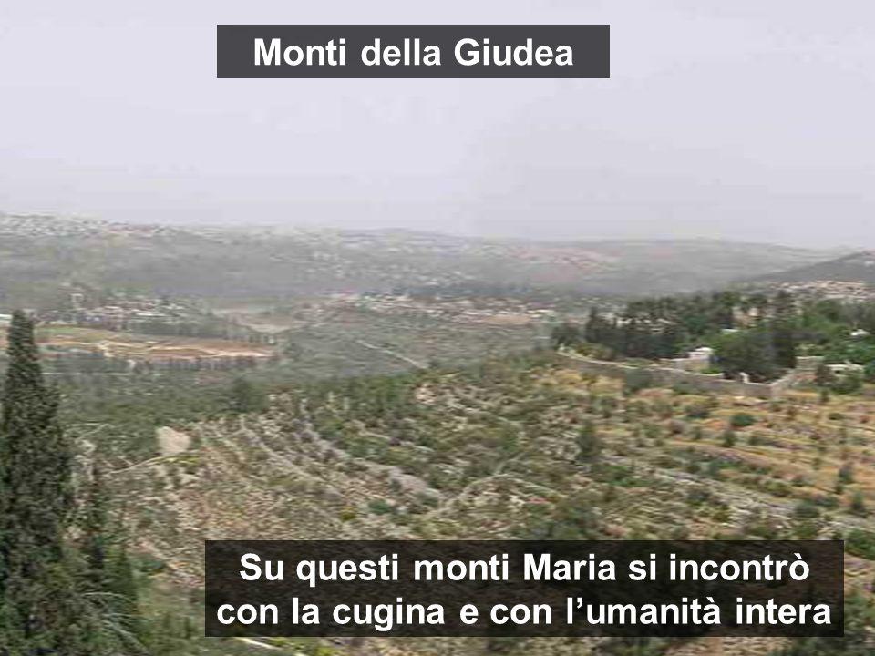 Su questi monti Maria si incontrò con la cugina e con l'umanità intera