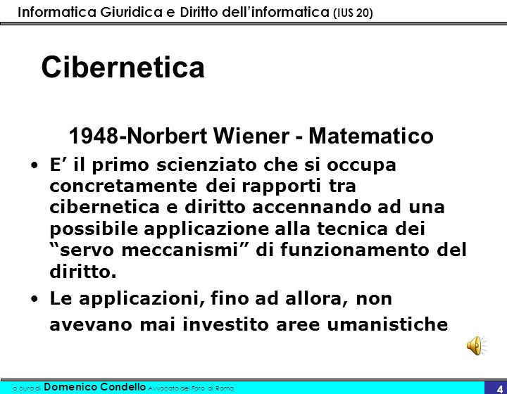 1948-Norbert Wiener - Matematico