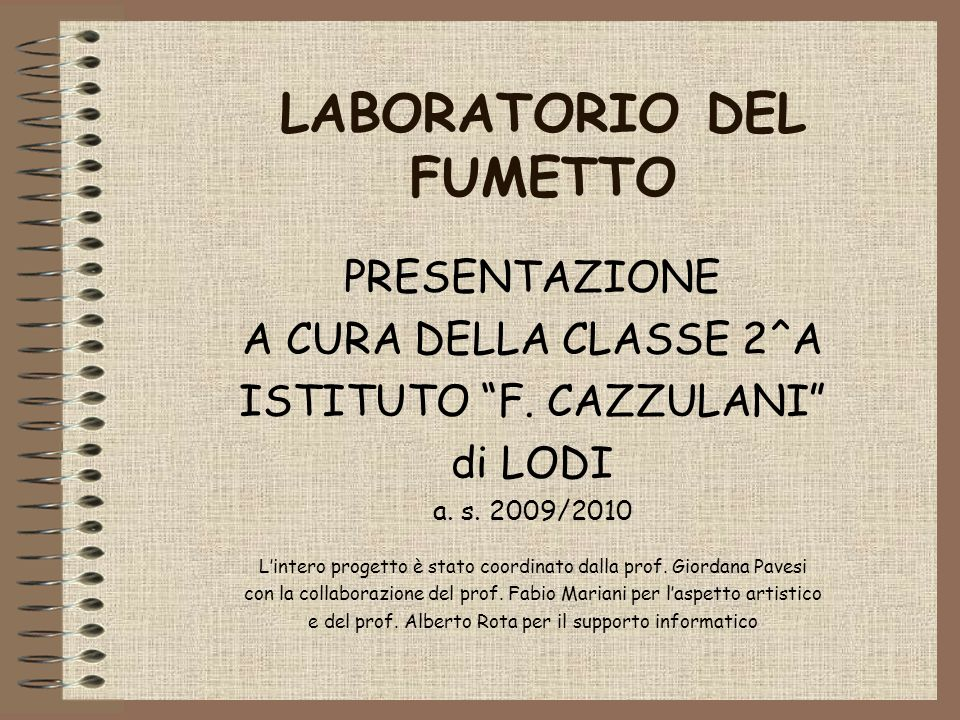 LABORATORIO DEL FUMETTO