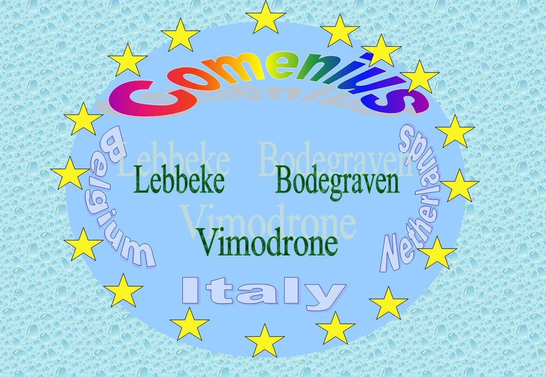 Italy Belgium Netherlands Lebbeke Vimodrone Bodegraven Comenius