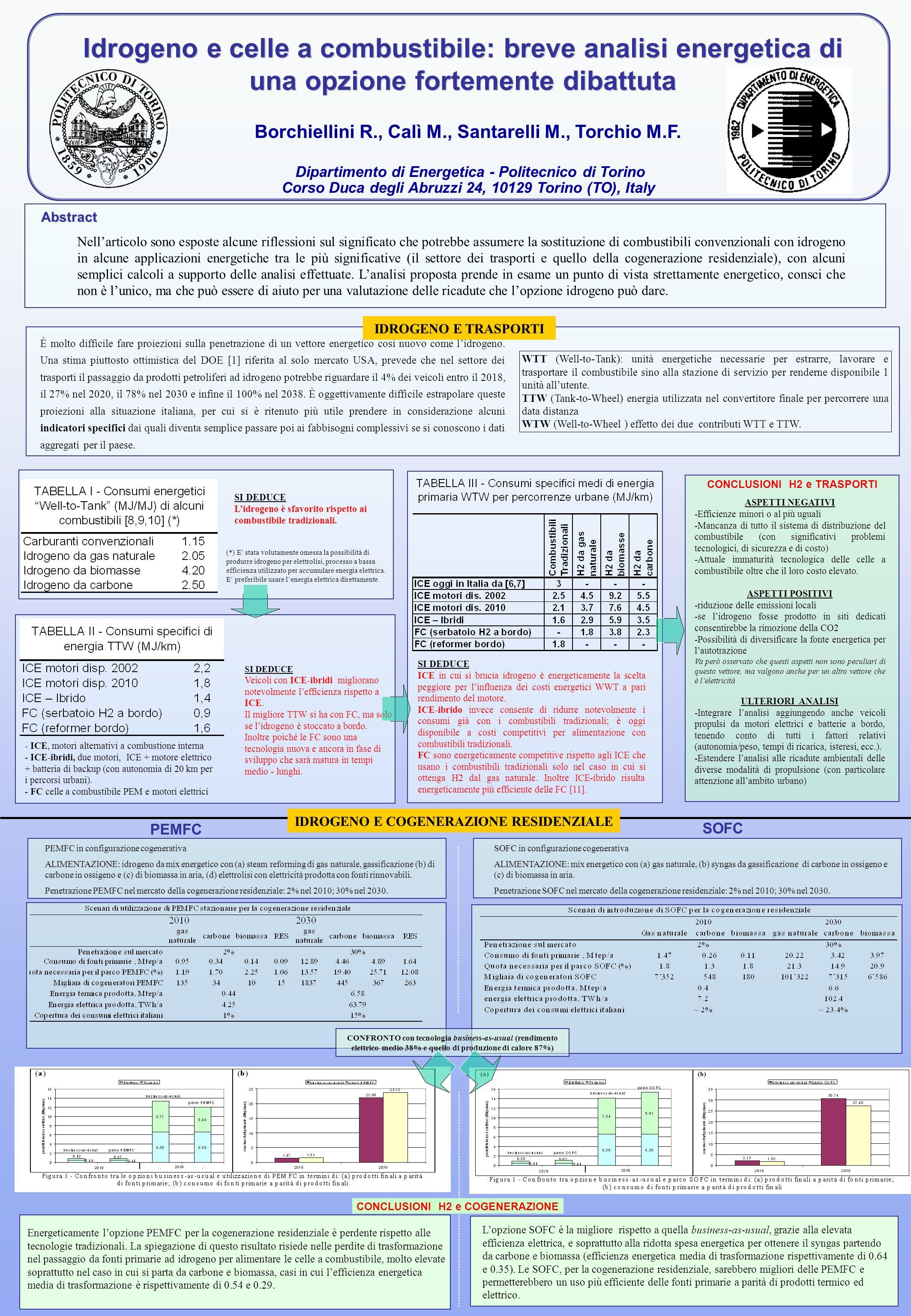 Idrogeno e celle a combustibile: breve analisi energetica di una opzione fortemente dibattuta