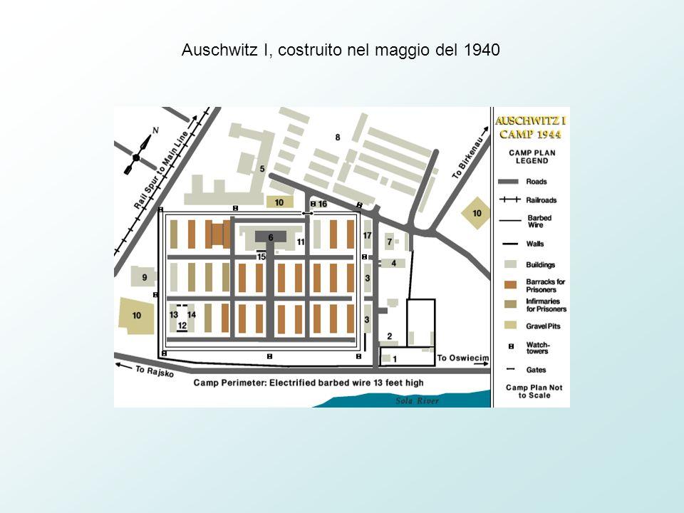 Auschwitz I, costruito nel maggio del 1940