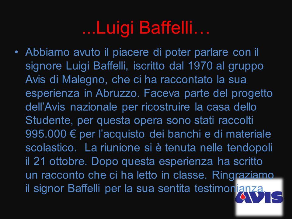 ...Luigi Baffelli…
