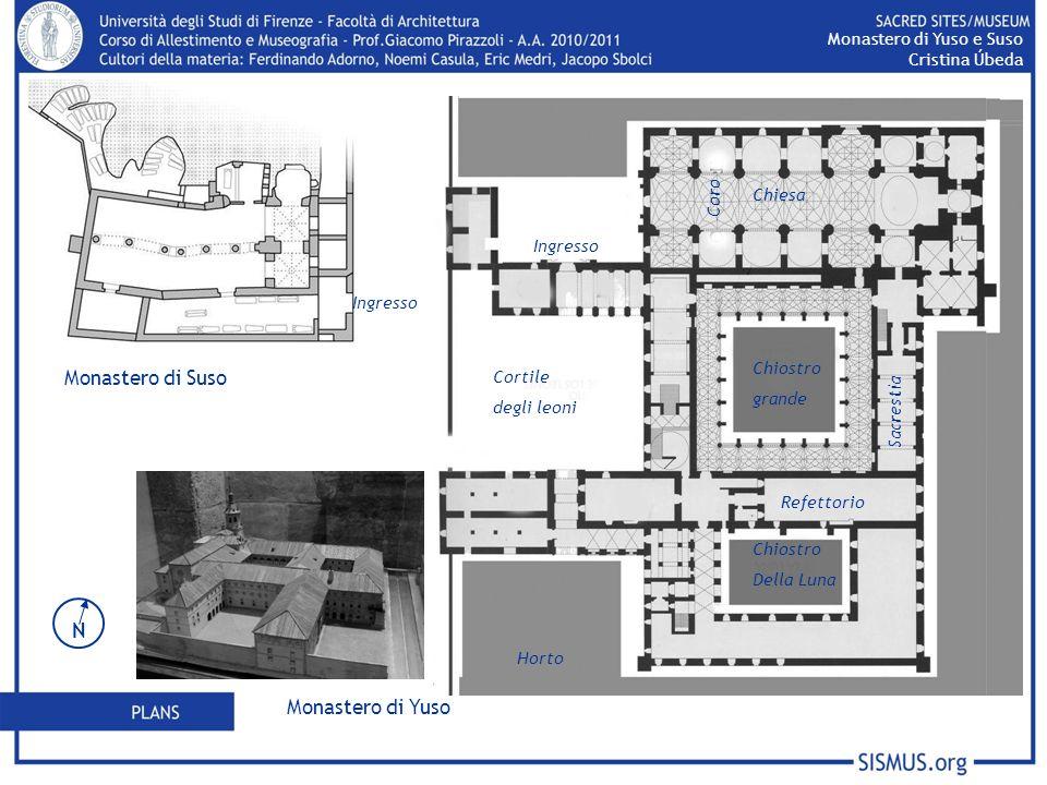 Monastero di Suso N Monastero di Yuso Monastero di Yuso e Suso