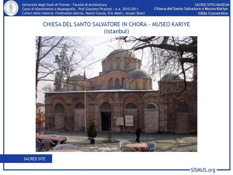 CHIESA DEL SANTO SALVATORE IN CHORA - MUSEO KARIYE (Istanbul)