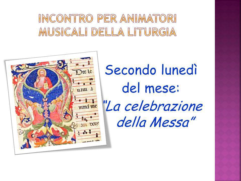 Incontro per animatori musicali della liturgia