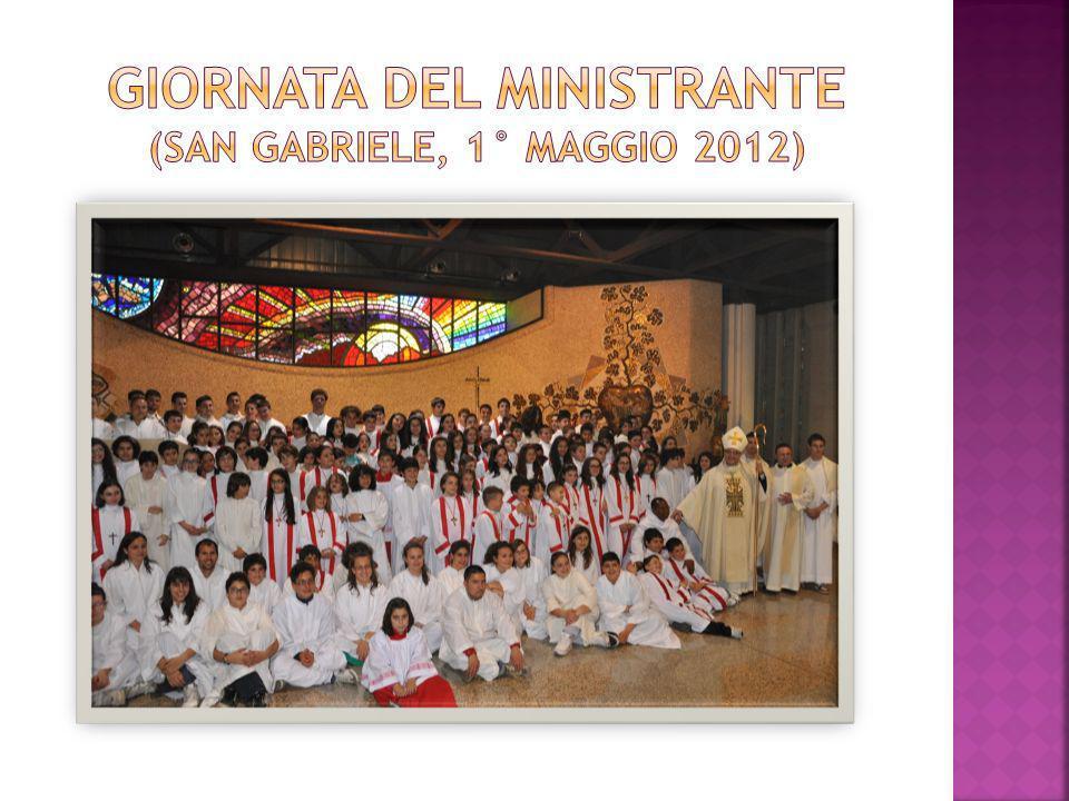 Giornata del ministrante (San gabriele, 1° Maggio 2012)