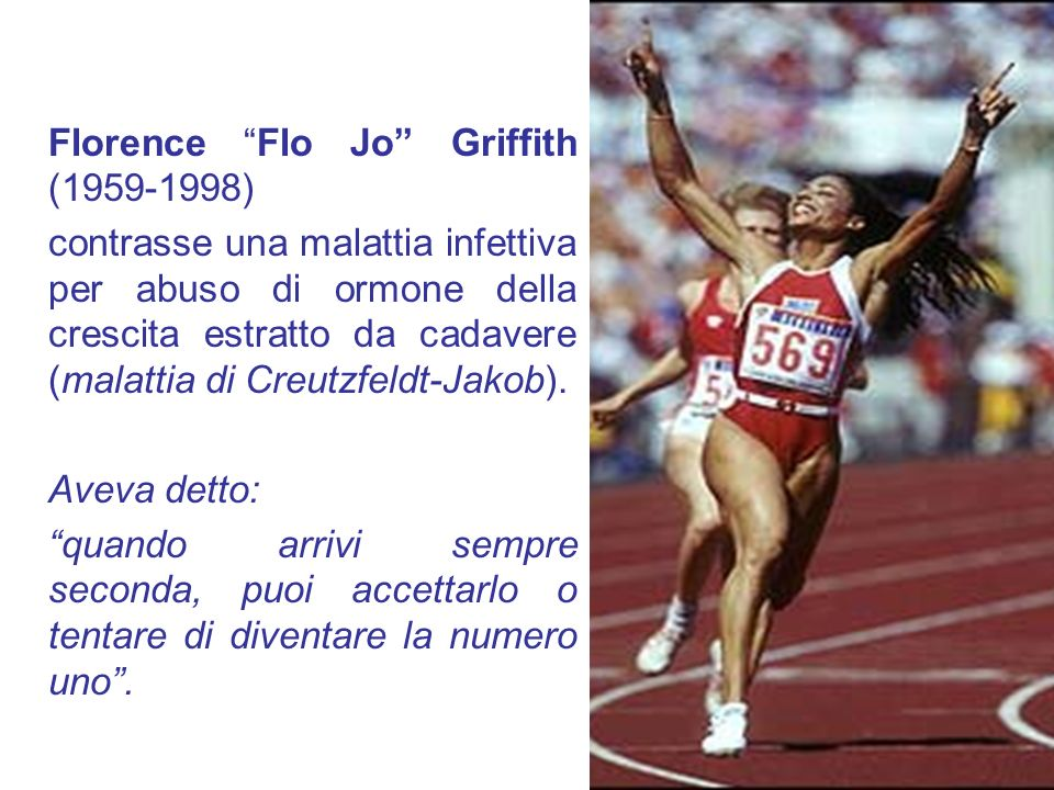 Florence Flo Jo Griffith (1959-1998)