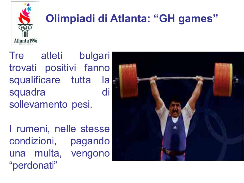 Olimpiadi di Atlanta: GH games