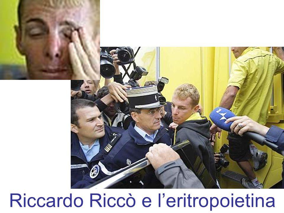 Riccardo Riccò e l'eritropoietina