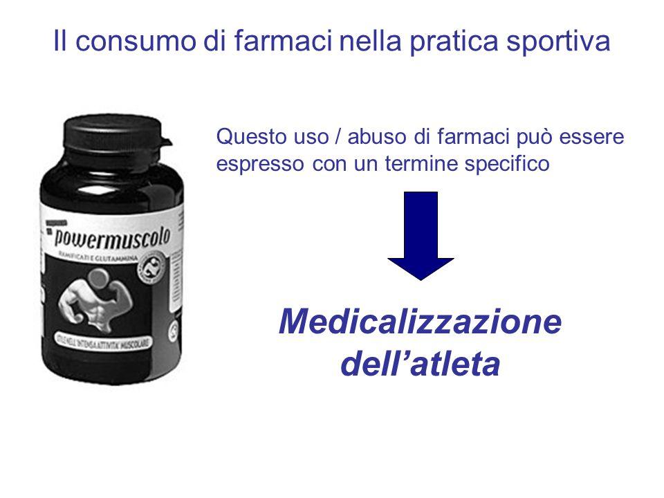 Medicalizzazione dell'atleta