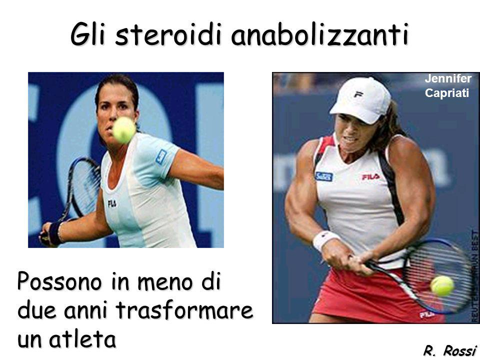 Gli steroidi anabolizzanti