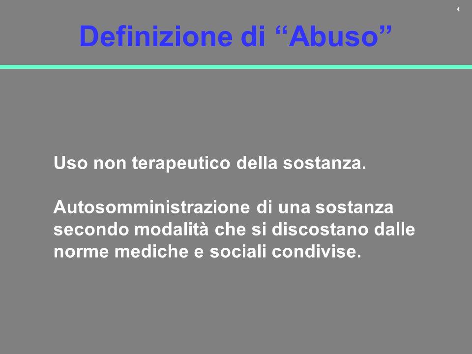 Definizione di Abuso
