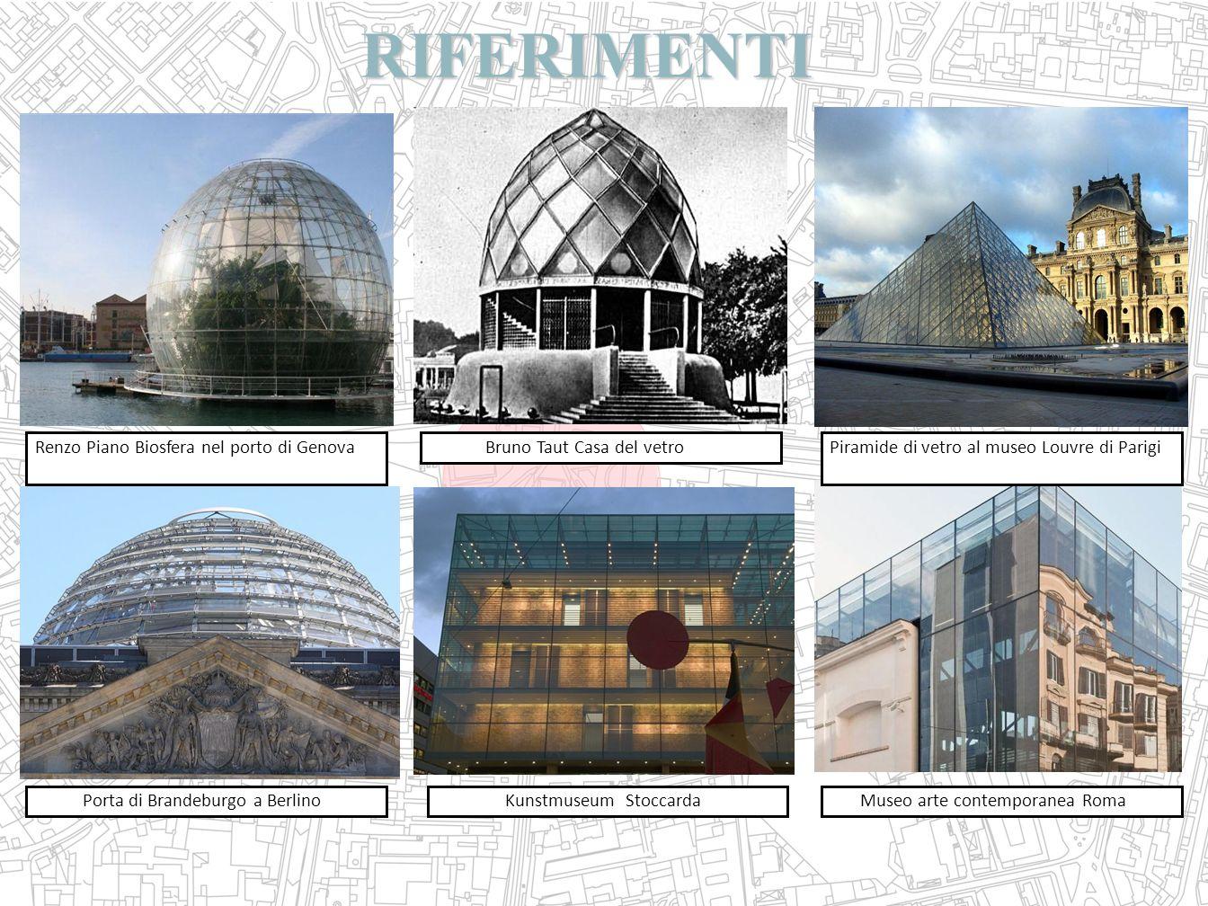 RIFERIMENTI Renzo Piano Biosfera nel porto di Genova