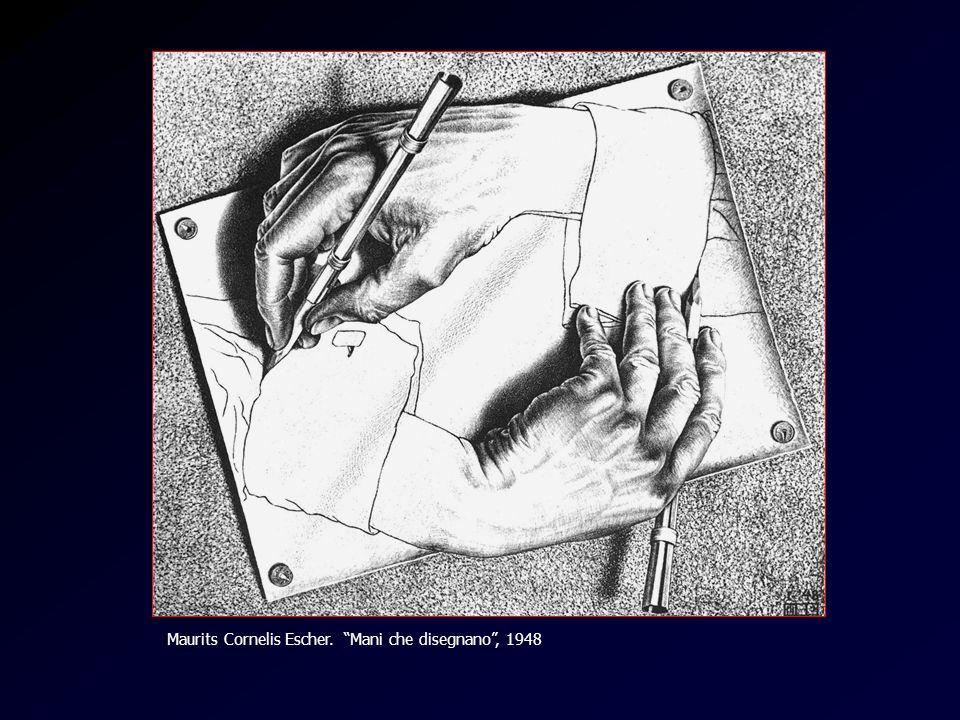 Maurits Cornelis Escher. Mani che disegnano , 1948