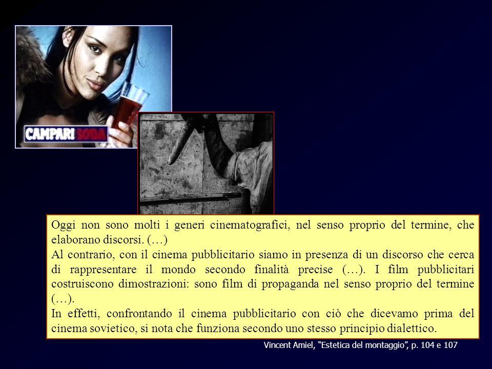 Amiel - pubblicità Oggi non sono molti i generi cinematografici, nel senso proprio del termine, che elaborano discorsi. (…)