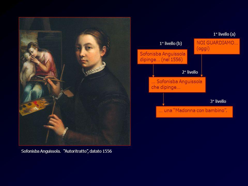 … Sofonisba Anguissola che dipinge…