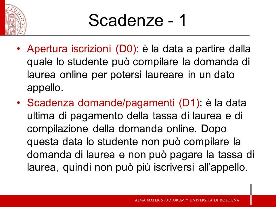 Scadenze - 1