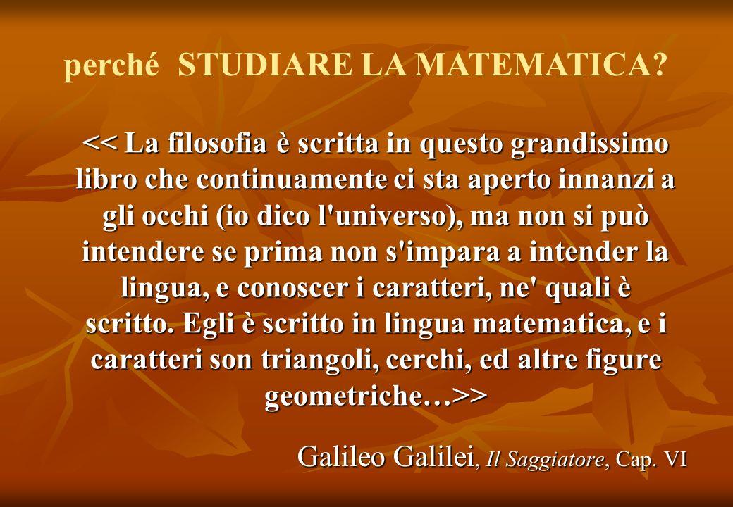 Galileo Galilei, Il Saggiatore, Cap. VI