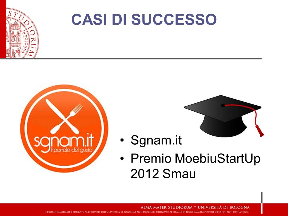 CASI DI SUCCESSO Sgnam.it Premio MoebiuStartUp 2012 Smau