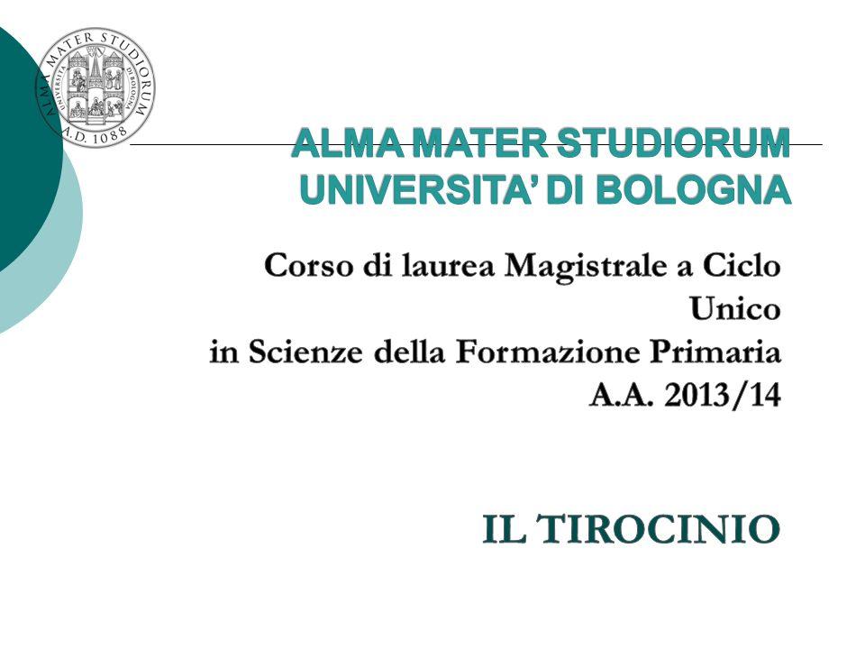 ALMA MATER STUDIORUM UNIVERSITA' DI BOLOGNA