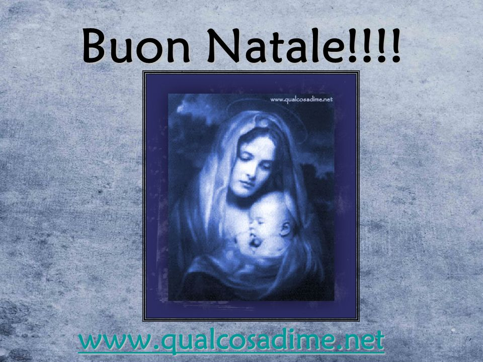Buon Natale!!!! www.qualcosadime.net