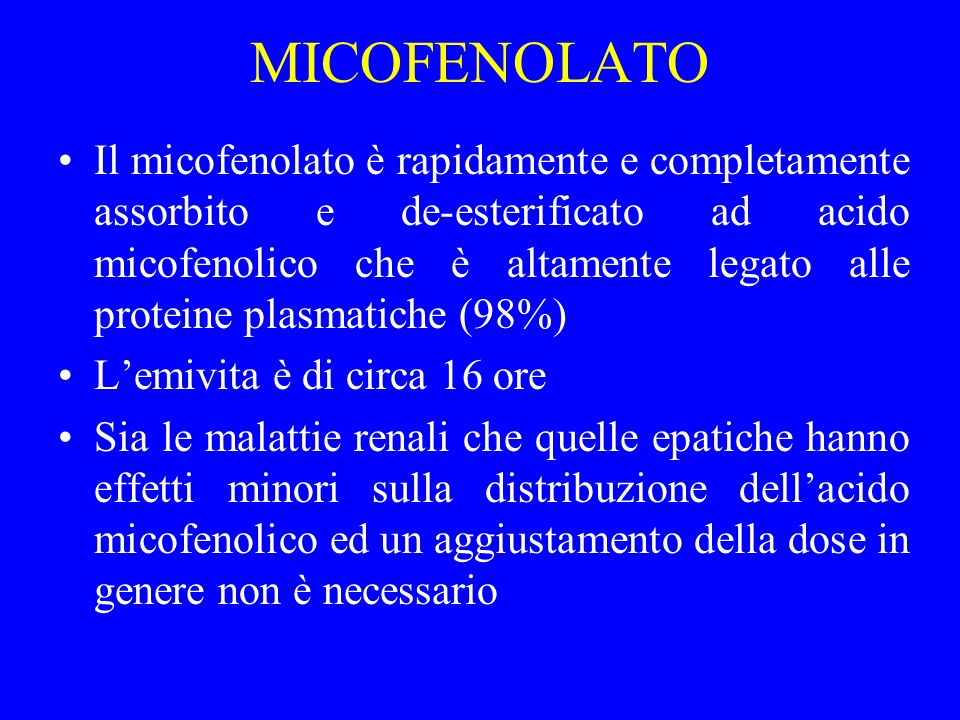 MICOFENOLATO