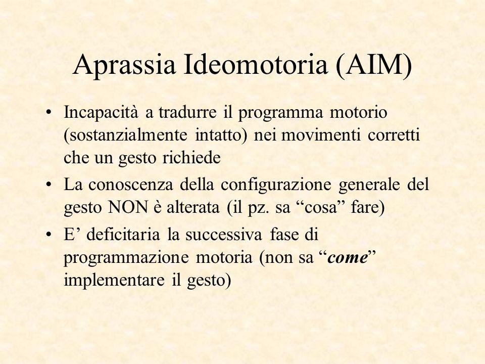 Aprassia Ideomotoria (AIM)