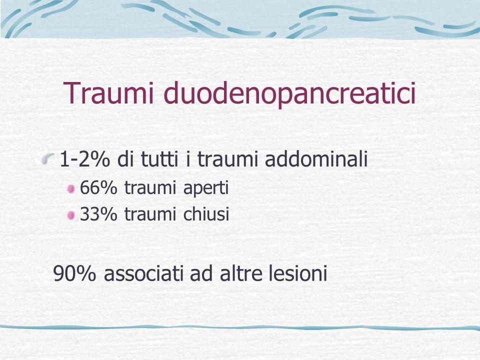 Traumi duodenopancreatici