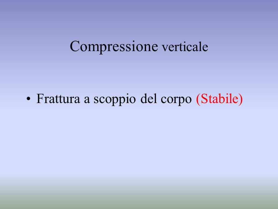 Compressione verticale