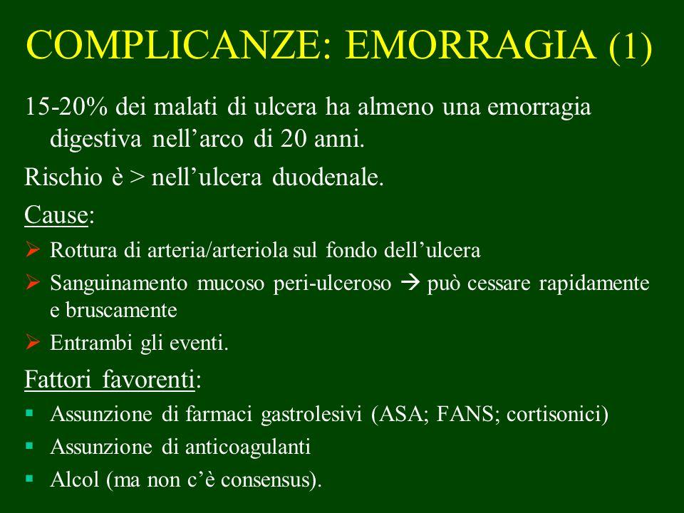 COMPLICANZE: EMORRAGIA (1)