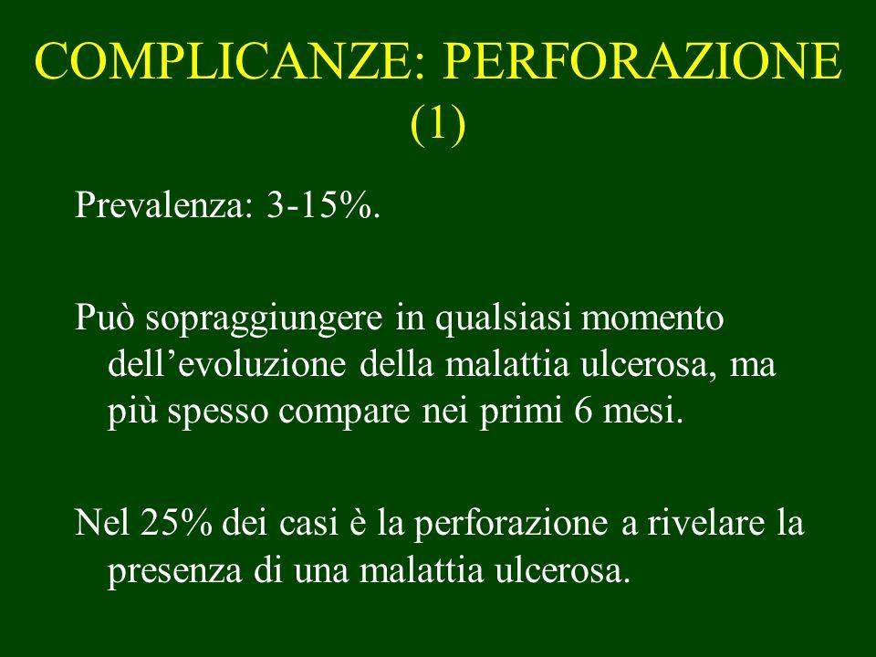 COMPLICANZE: PERFORAZIONE (1)
