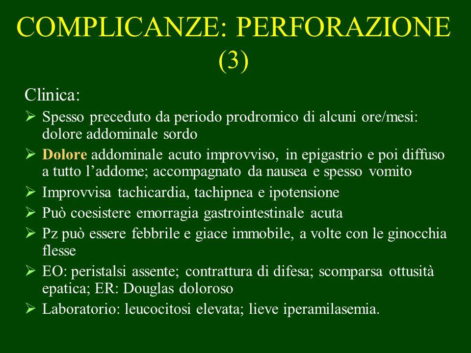COMPLICANZE: PERFORAZIONE (3)