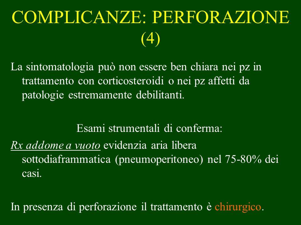 COMPLICANZE: PERFORAZIONE (4)