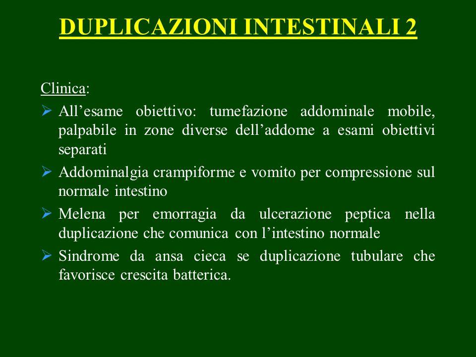 DUPLICAZIONI INTESTINALI 2