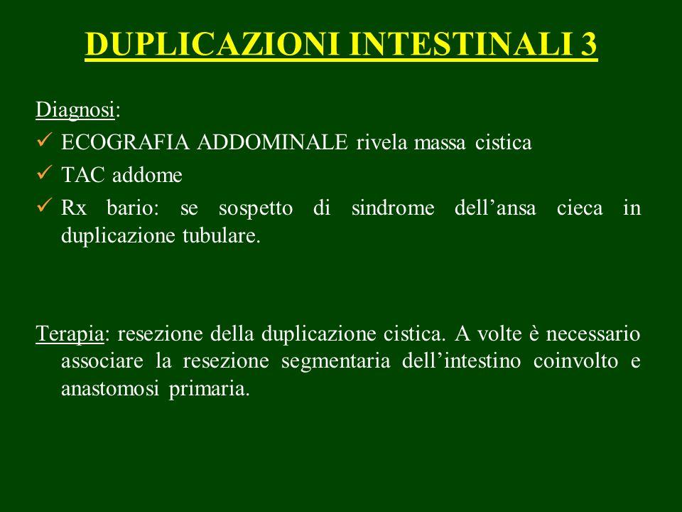 DUPLICAZIONI INTESTINALI 3
