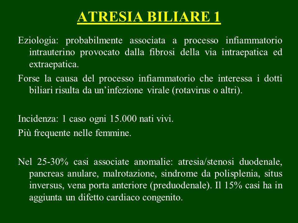 ATRESIA BILIARE 1