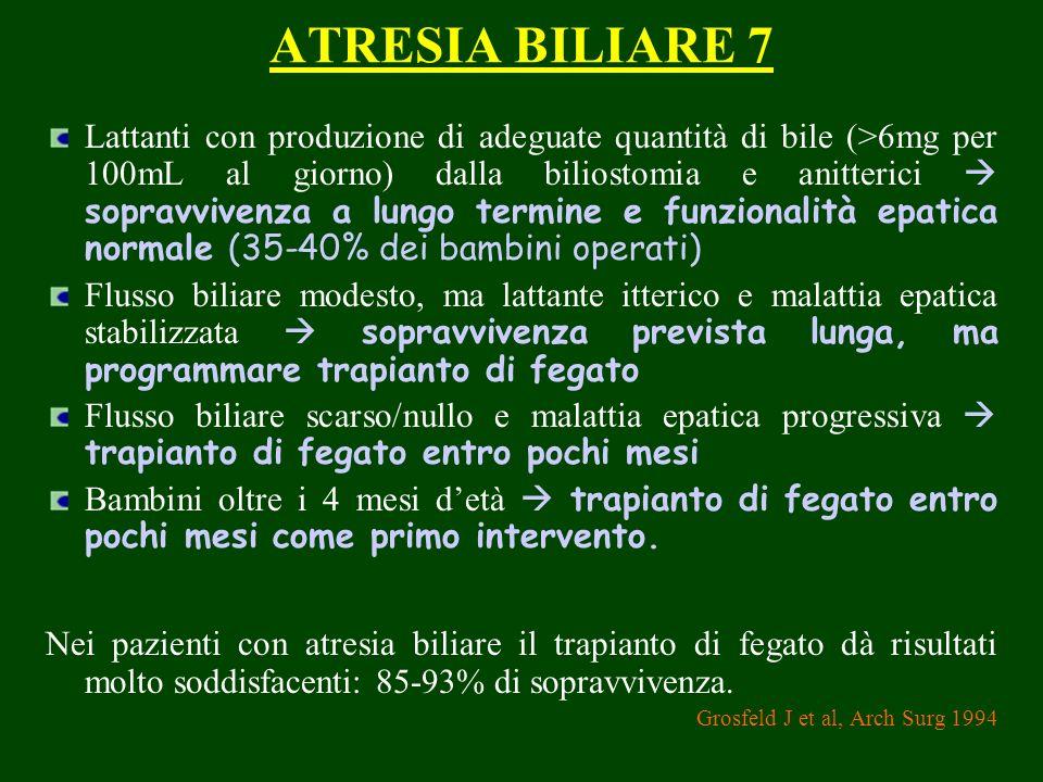 ATRESIA BILIARE 7