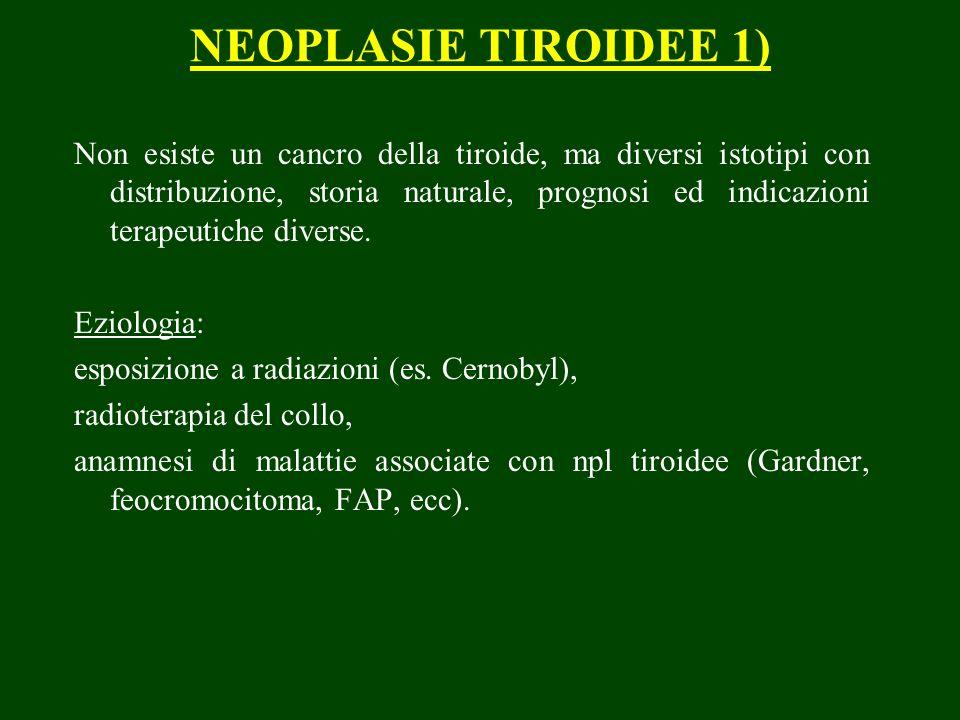 NEOPLASIE TIROIDEE 1)