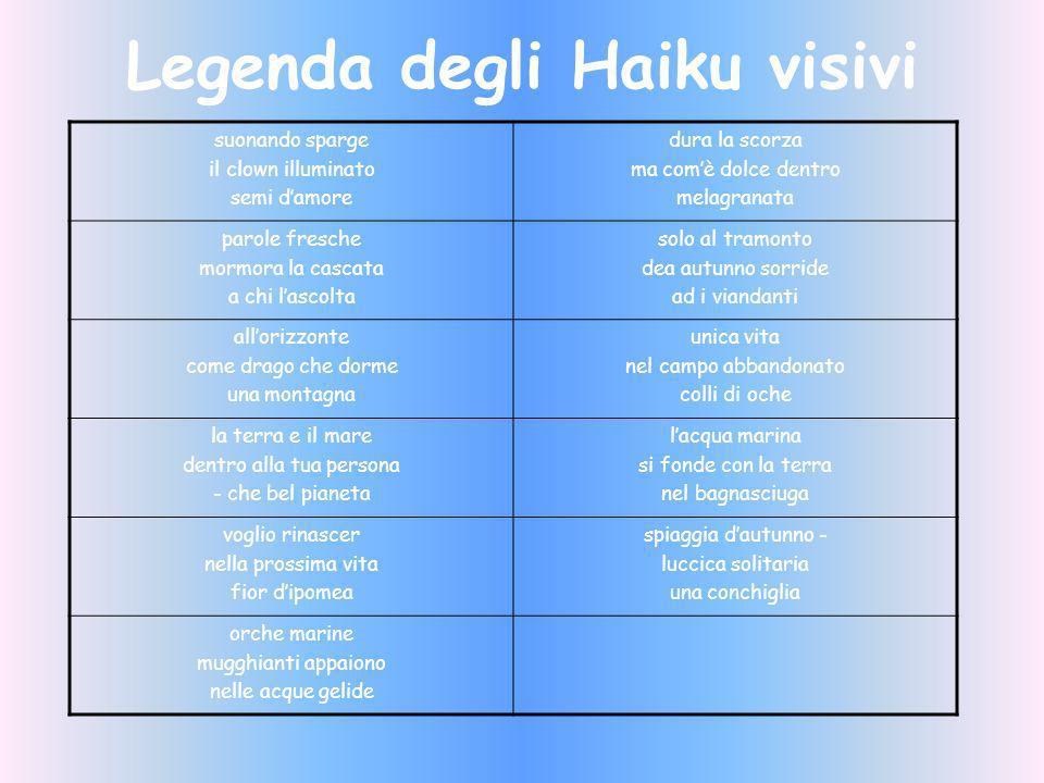 Legenda degli Haiku visivi