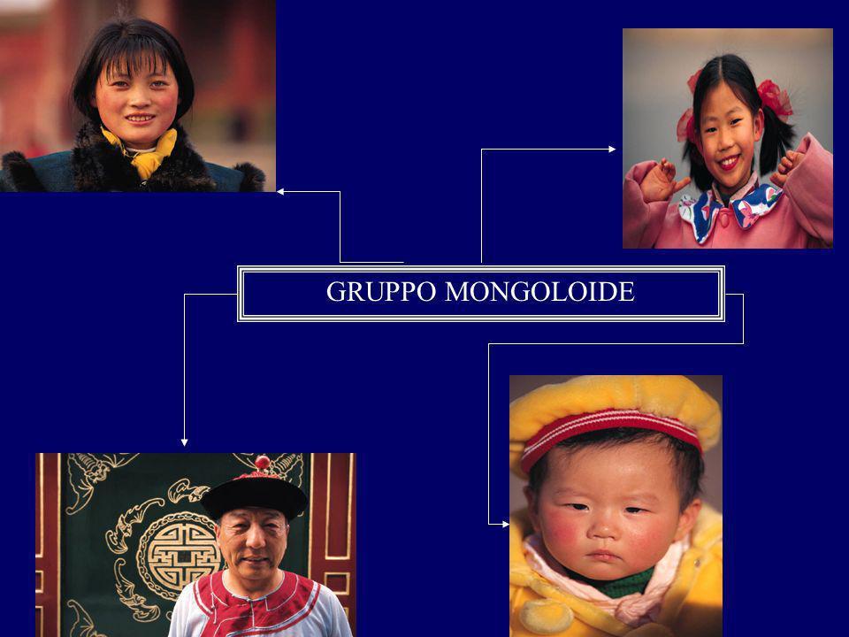GRUPPO MONGOLOIDE