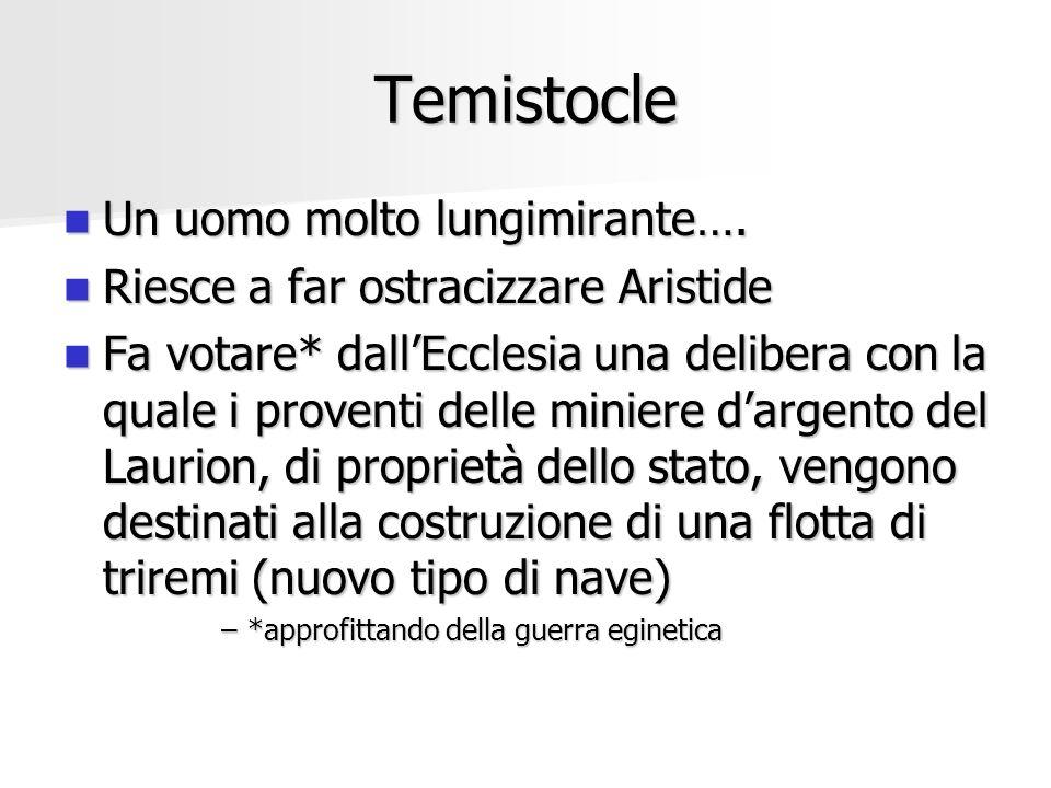 Temistocle Un uomo molto lungimirante….
