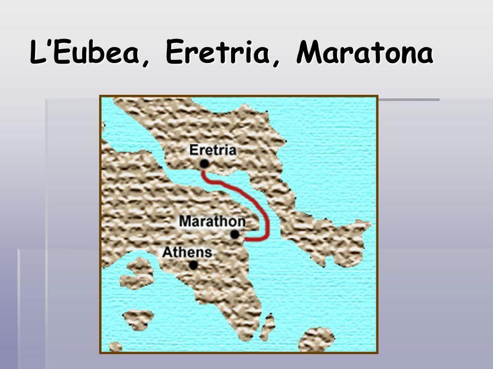 L'Eubea, Eretria, Maratona