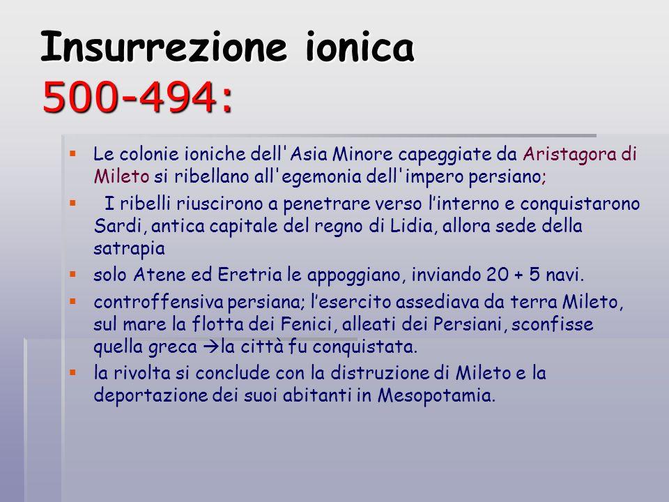 Insurrezione ionica 500-494: